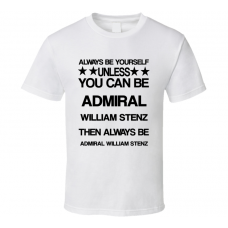 Admiral Godzilla Be Yourself Movie Characters T Shirt